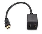 Multiplicador HDMI pasivo de 1 a 2