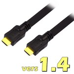 Cable HDMI version 1.4 (con ethernet) 1.00m